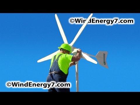 Home Wind Turbine. Rooftop Wind Turbine