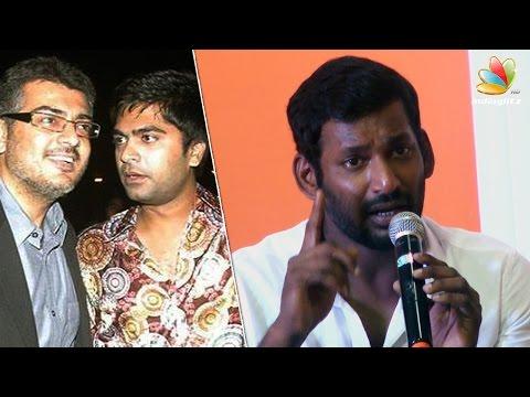 Vishal's clarification about Ajith issue and Simbu resignation   Nassar, Ponvannan   Nadigar Sangam
