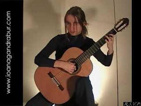 Rêverie Regondi Ioana Gandrabur guitarist