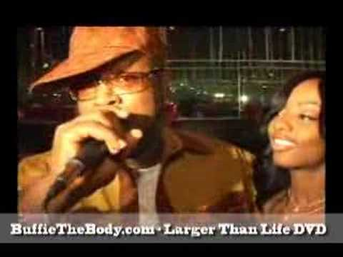 Buffie the Body - Larger Than Life DVD Video