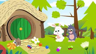 Tik ve Tak Çizgi Filmi - Bebek Eğitici Çizgi Film - Bölüm 14: Bahçemizi Süsleyelim