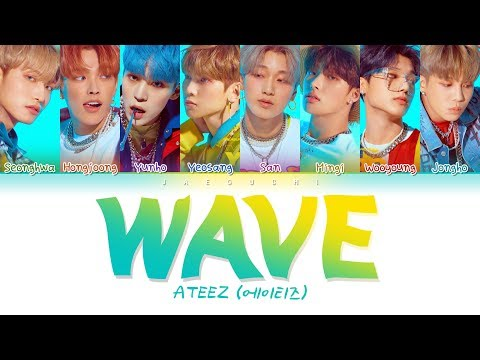 Download ATEEZ 에이티즈 - WAVE Color Coded s Eng/Rom/Han/가사 Mp4 baru