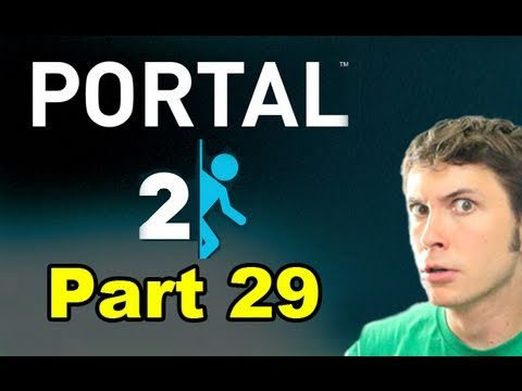 Portal 2 - GEL REPULSION BLOBS - Part 29 (Toby Sucks at Gaming)