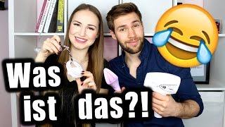 Mein Bruder errät verrückte Beauty Must Haves 😂 | Lena's Lifestyle
