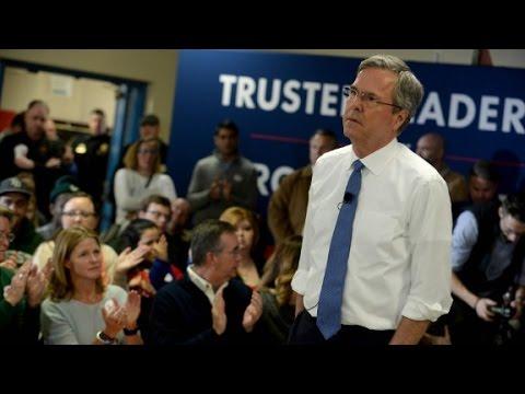 Jeb Bush: Attacking Marco Rubio isn't comfortable fo...