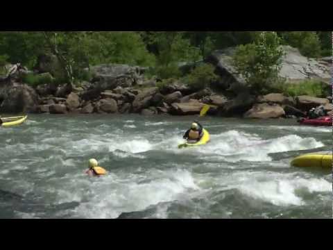 Lower Mash Rapid - Summer Gauley River