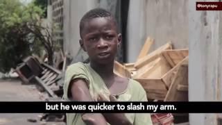 11 year old boy who belongs to Eiye confraternity