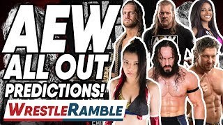 AEW ALL OUT PREDICTIONS! WrestleTalk's WrestleRamble