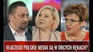 DLACZEGO POLSKIE MEDIA SĄ W OBCYCH RĘKACH? Rybińska, Jakubowska, Hajdasz u Otoki-Frąckiewicza