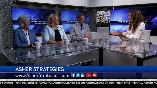 Asher Strategies featured on Worldwide Business with kathy ireland®