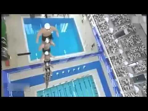 ЧУМОВОЙ прыжок в воду!
