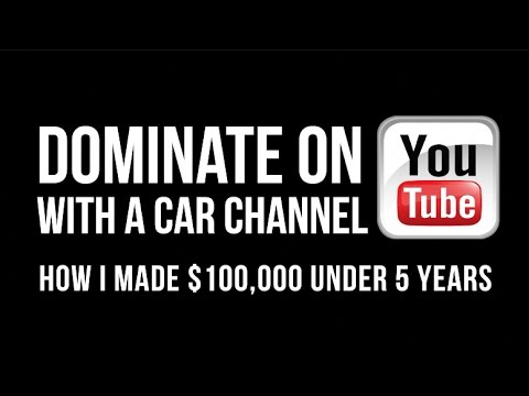 How To Make Money On Youtube with a Car Channel