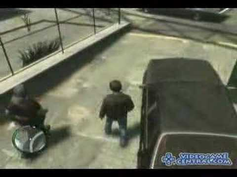 Grand Theft Auto IV-A First Gameplay Look-GTA4 Xbox 360 PS3