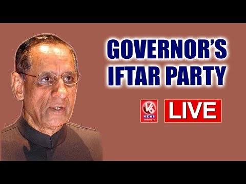 Governor Narasimhan Hosts Iftar Party At Raj Bhavan - LIVE