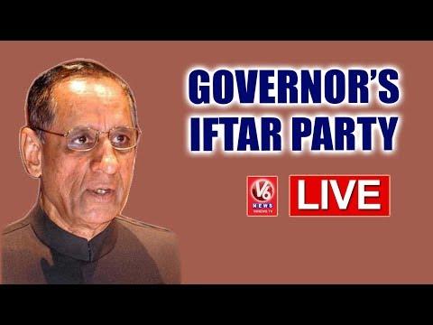 Governor Narasimhan Hosts Iftar Party At Raj Bhavan - LIVE