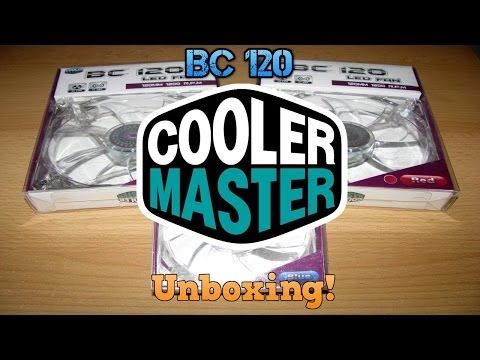 Unboxing/Review Cooler Master BC 120 LED FAN(TheEnvyGamer)
