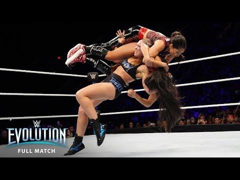 FULL MATCH - Ronda Rousey vs. Nikki Bella - Raw Women's Championship: WWE Evolution (WWE Network) thumbnail