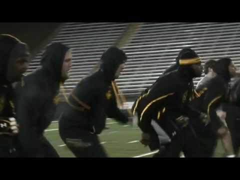 Towson Football 2013 Winter Workouts - Episode 1