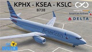 Infinite Flight Global   Phoenix, Seattle, Salt Lake City!!!