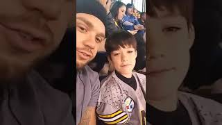Indy vs Steelers Lil Drews first football game