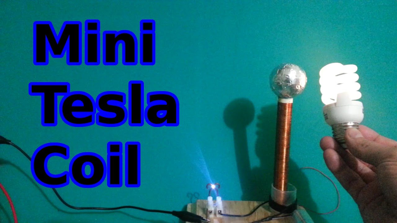 How to make a mini Tesla Coil - YouTube