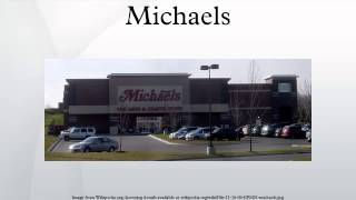 Michael's Craft Store off the shelves
