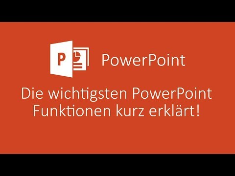 Die wichtigsten Funktionen von PowerPoint kurz erklärt! | PowerPoint Tutorial Deutsch