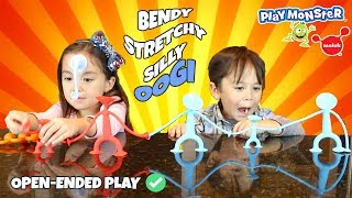 Stretch your Imagination with Oogi | Oogi Family, Pilla and Oogifant by Moluk and PlayMonster