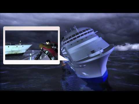 Florida couple escape from sinking Italian cruise ship
