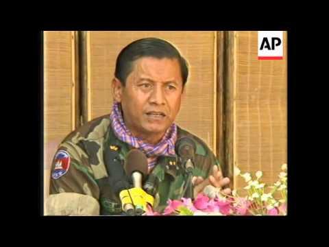 CAMBODIA: FEUD BETWEEN 2 PRIME MINISTERS ERUPTS INTO GUNBATTLE UPDATE