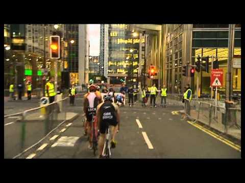 GE Canary Wharf Triathlon - Men's Race 2011