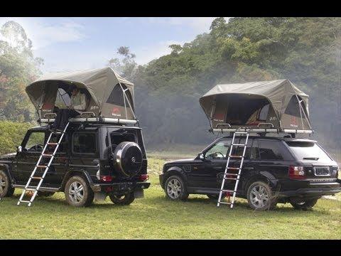 Automatic Rooftop Tent 2013 Wildland 秋野地 车顶帐 Youtube