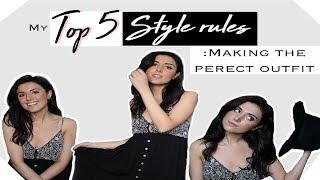 5 STYLE TIPS FOR A PERFECT OUTFIT! | KIMISCLOSET