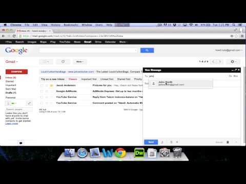 How To Use GMail - Beginners Guide 2013