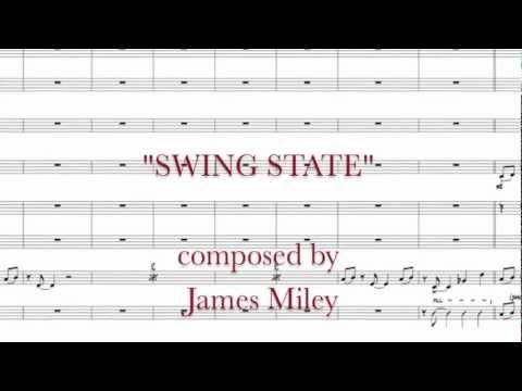 "Lawrence U. Jazz Band II plays James Miley's ""Swing State"""