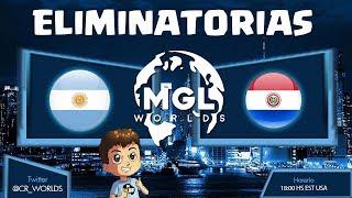 CR WORLDS: ARGENTINA VS PARAGUAY, ELIMINATORIAS | KManuS88 | Clash Royale