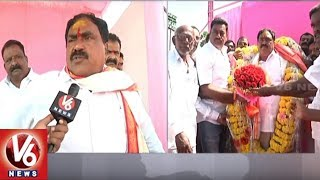 Errabelli Dayakar Rao Face To Face Over KCR Public Meeting In Palakurthi | TS Assembly Polls