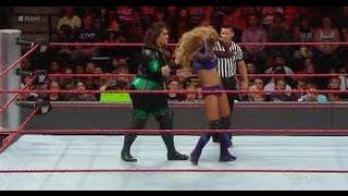 Alicia Fox vs  Nia Jax  Raw, Sept  12, 2016
