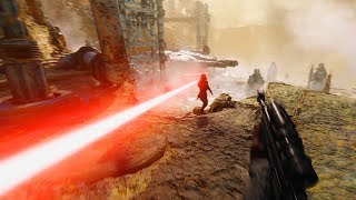 Battlefront II Kessel ULTRA IMMERSION! No HUD 4K Gameplay