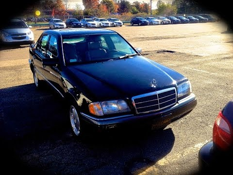 1995 Mercedes-Benz C280 W202 Start Up. Quick Tour. & Rev - 139K