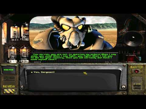 Fallout 2 - Guard and Drill Sergeant (HD)