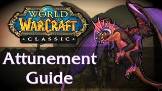 Classic WoW Raid Attunement Guide