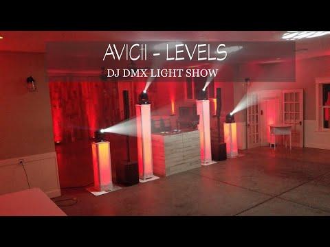 Avicii - Levels | DMX DJ SoundSwitch Scripted Light Show