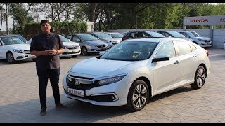 Honda Civic 2019 India, Petrol ZX Comprehensive Review