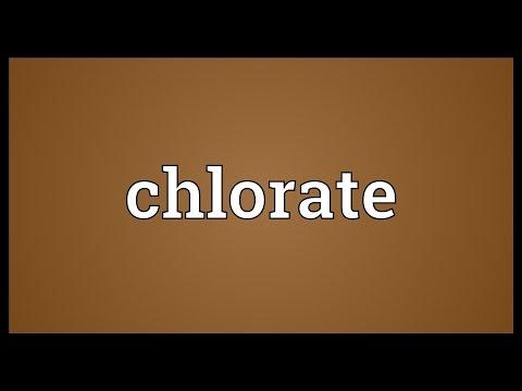 Header of chlorate