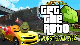 Annoying Orange and Pear Play - GET THE AUTO! (Worst Game Ever?)