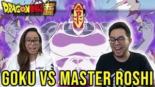 Dragon Ball Super English Dub Episode 89 GOKU VS MASTER ROSHI REACTION & REVIEW