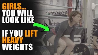 What REALLY Happens When Women Lift Heavy Weights in 10 Months