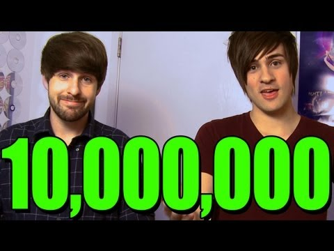 10 MILLION SUBSCRIBERS!