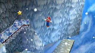 Super Mario 64 DS: Cool Cool Mountain (Mario's Super Wall Kick) [HD]